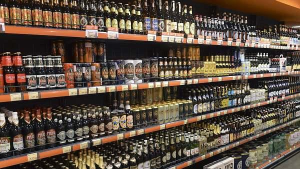 Выбор слабоалкогольного напитка