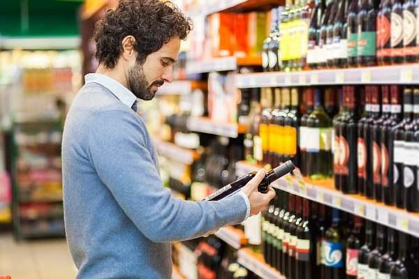 Покупка алкоголя