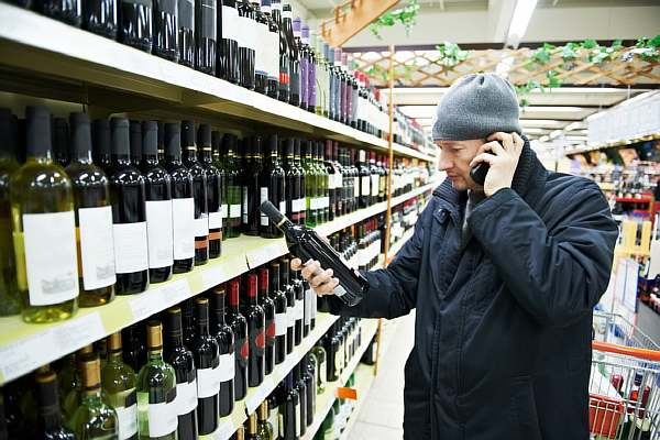 Выбор вина