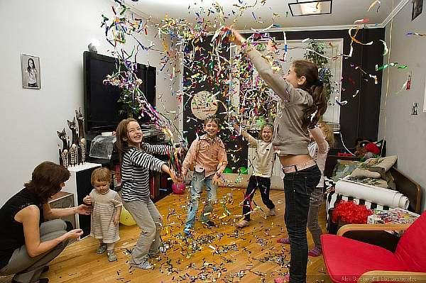 Праздник у детей